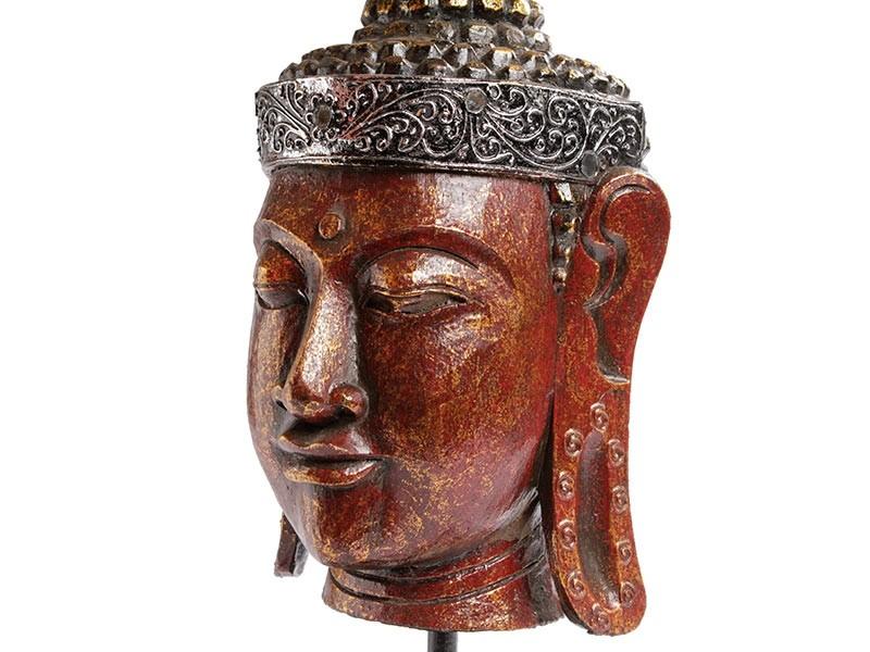 Cabeça de Buda Tailandês 60cm