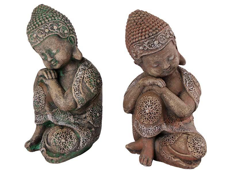 Budas em pedras pintadas á Mão