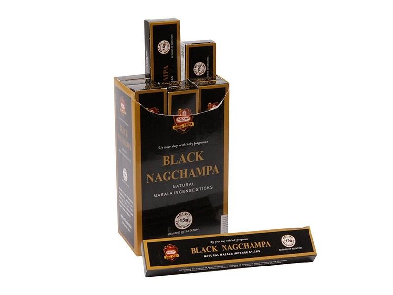 Caixa Incensos Black Nag Champa