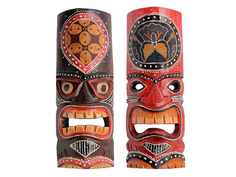 Máscara Tiki Kohala 30cm