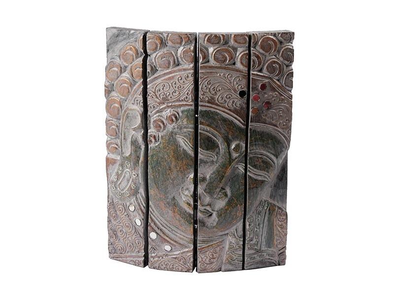 Quadro Buda com Divisões Verde