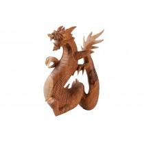 Estatua em madeira Suar 40cm