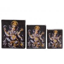 Caixa em Mosaico Ganesh