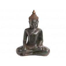 Buda em Resina Sentado Bhumisparsha