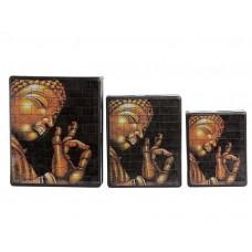 Caixa em Mosaico Buda Mantra