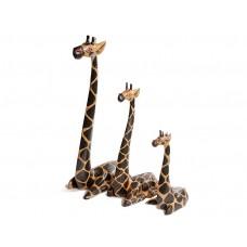 Estátuas de Girafas Sentadas