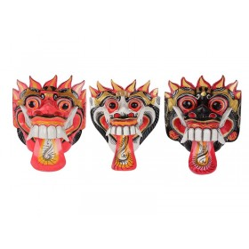 Máscara Barong Color 20cm