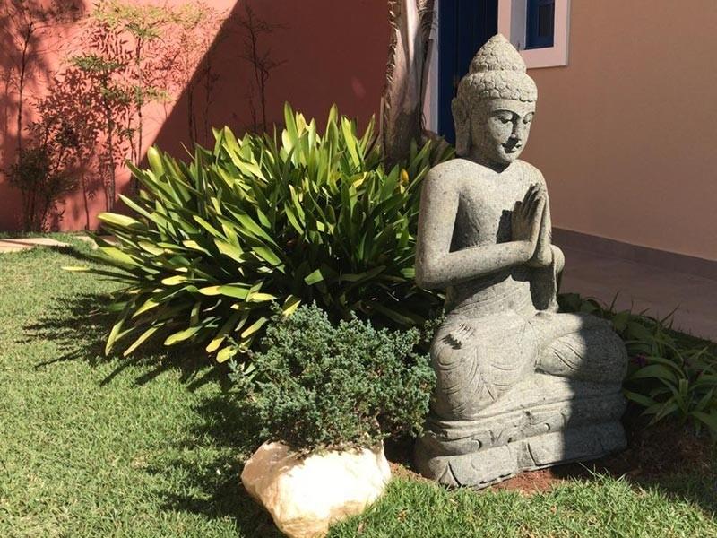 Buda em Pedra para Jardim