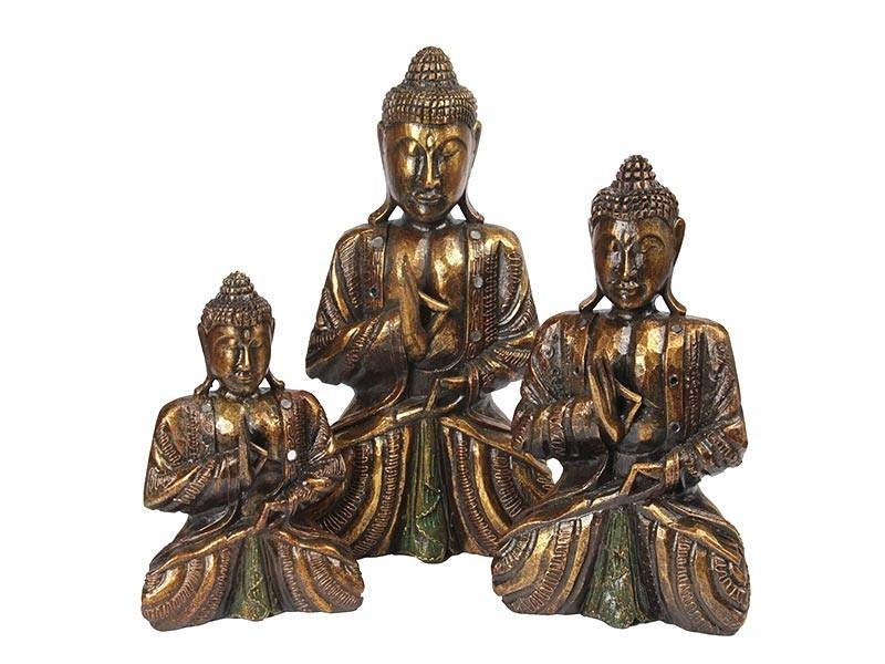 Linha de Budas Dourados