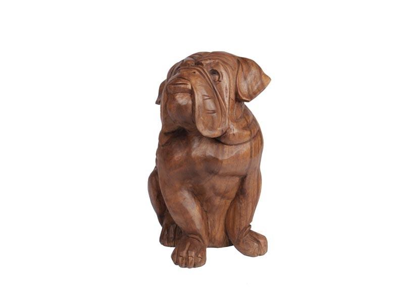 Escultura feita a mão Cachorro