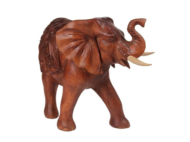 Escultura de Elefante Andando