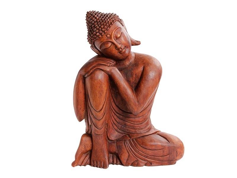Buda com a Mão no Joelho
