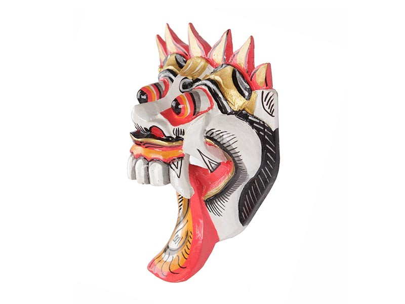 Máscara Barong Branca