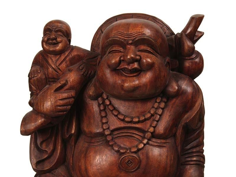 Buda com Criancinha no Ombro