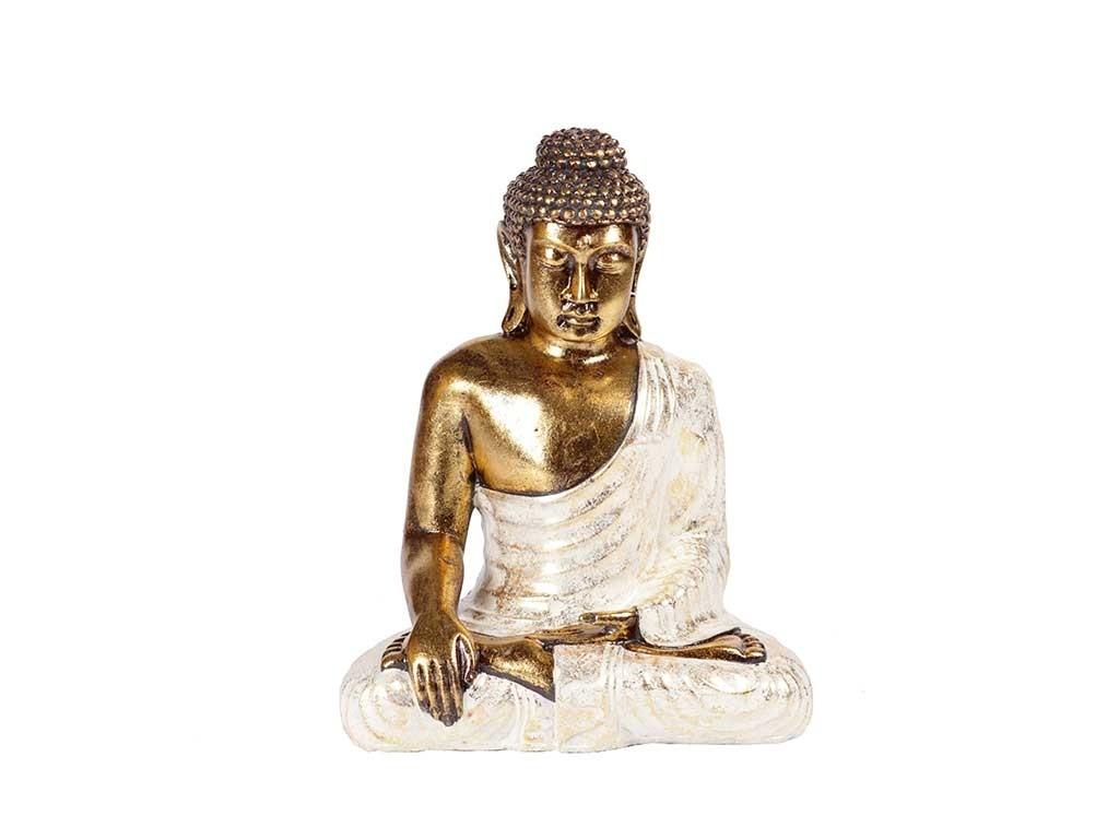 Buda Sentado Decorativo em Resina