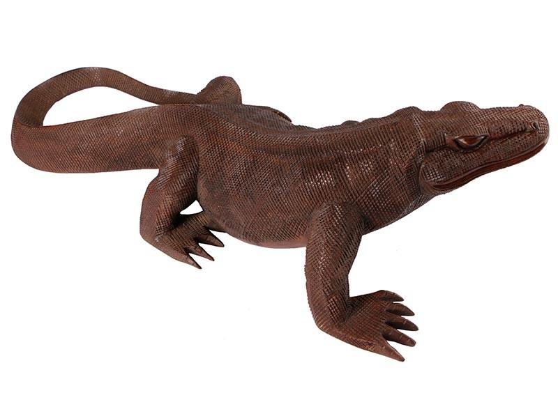 Dragão de Komodo em Madeira