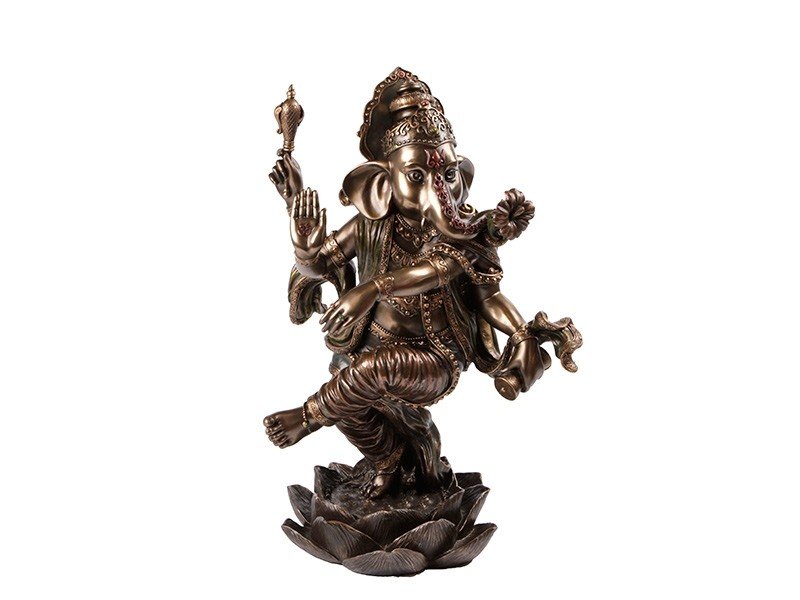 Sri Ganesh Dancing Sculpture