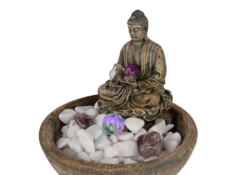 Fonte de Agua Buda Medicina