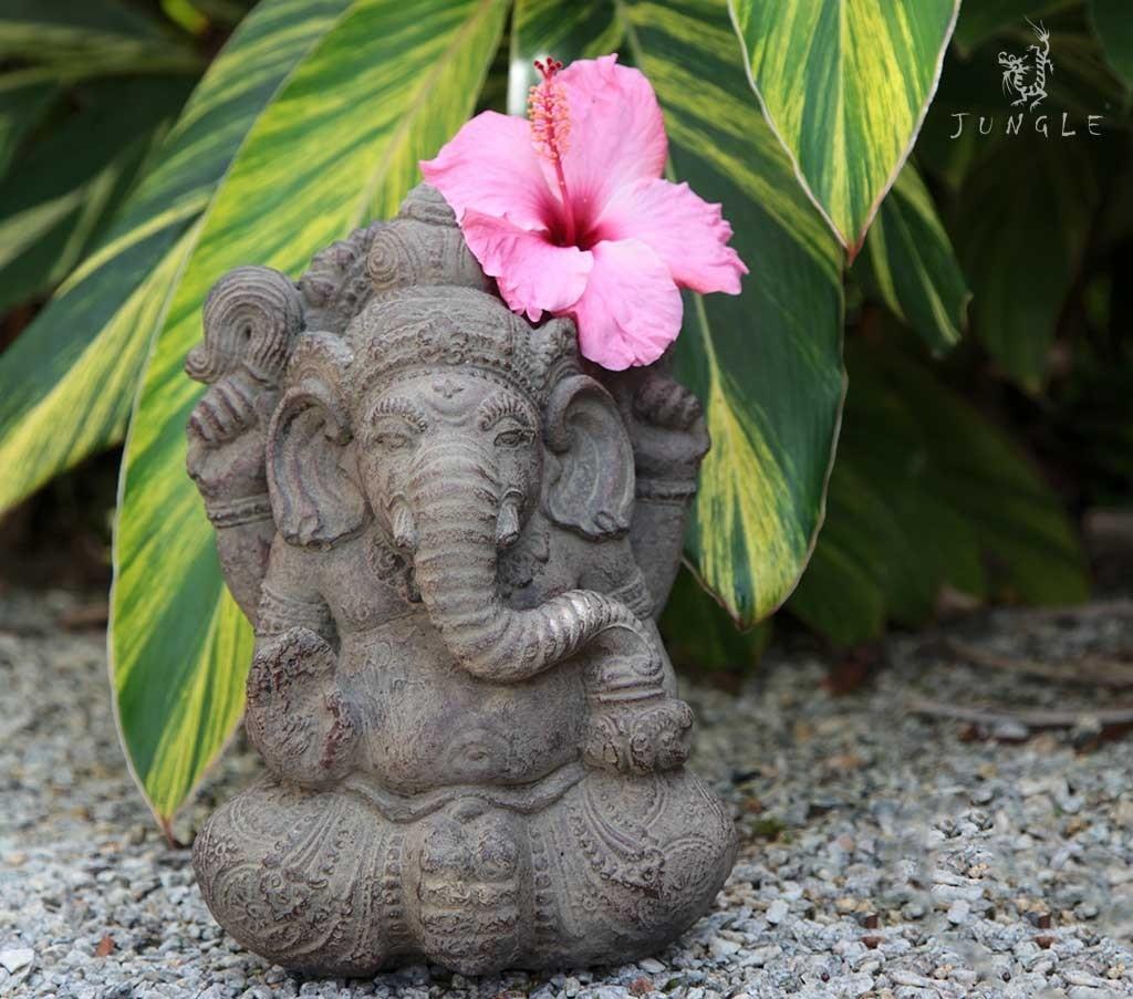 Ganesha em Pedra para Jardim