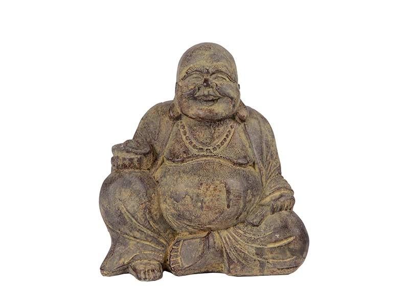 Buda Hotei em Pedra