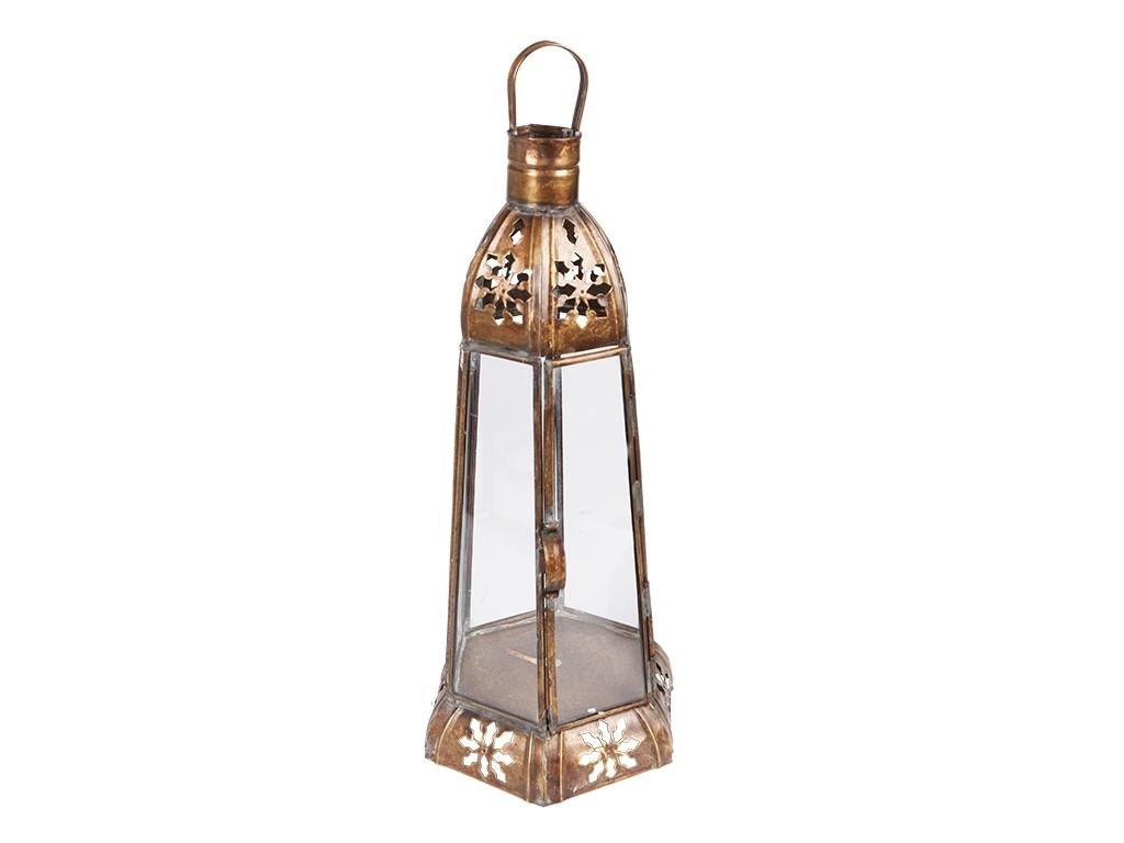 Lanterna Marroquina com Vidros