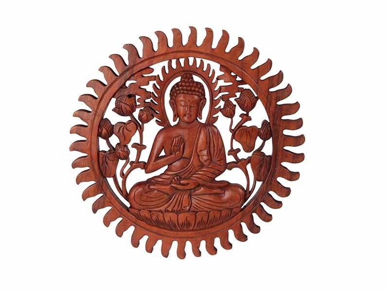 Mandala Buda Natural 40cm