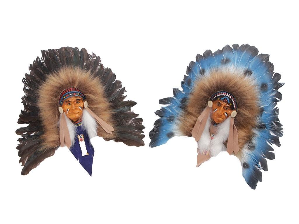 Máscaras de Índios Sioux