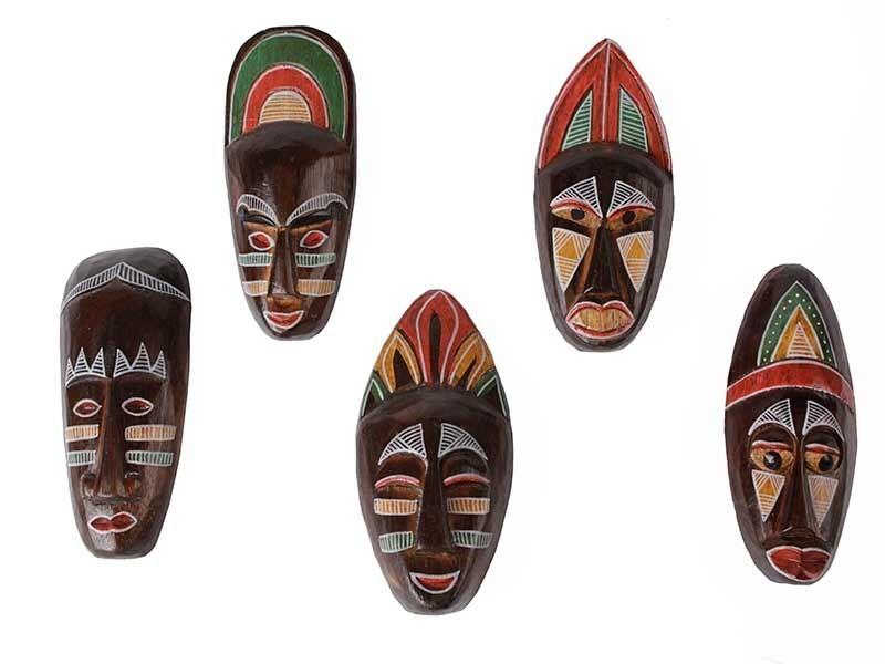 Máscaras Africanas em Madeira