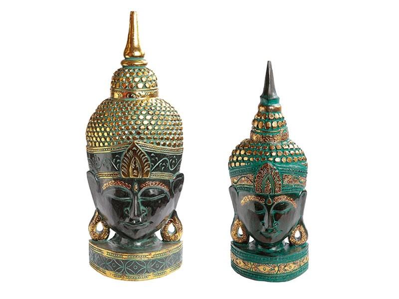 Máscaras Budistas de mesa