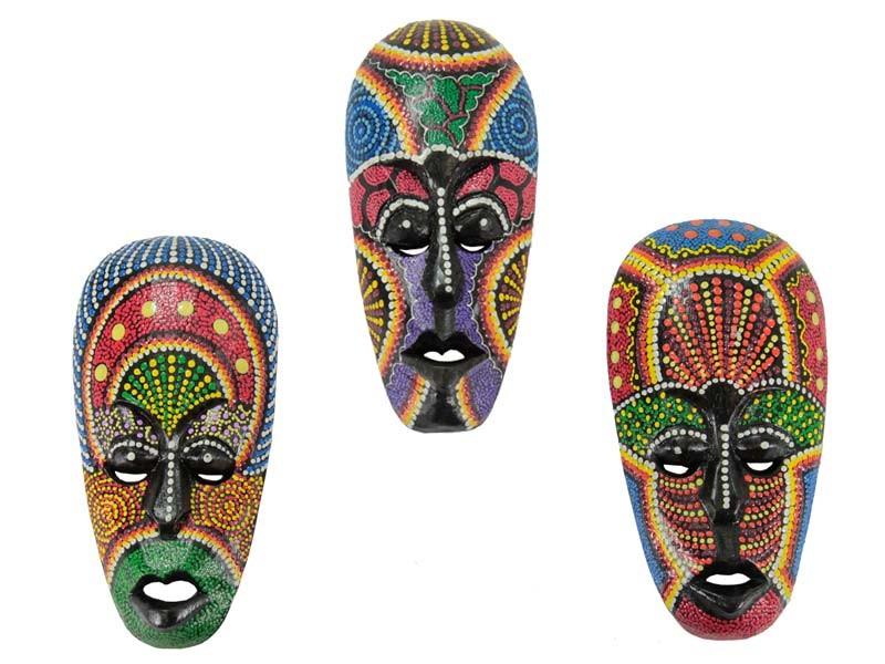 Máscaras Aborigenes Coloridas