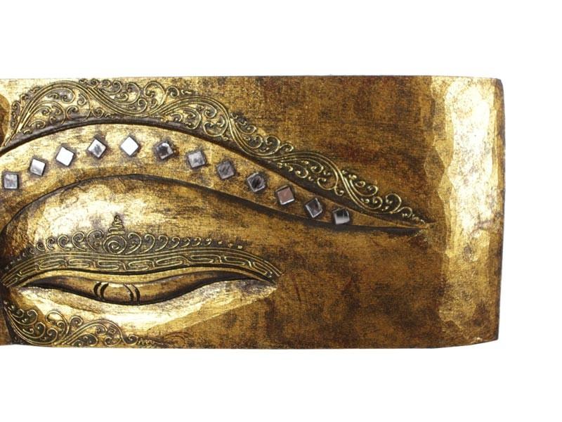 Pandil pintado em dourado