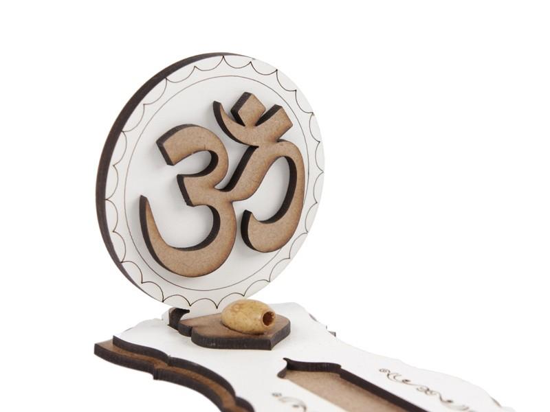 Incensário de Mesa Com Símbolos 3D SIMBOLO OM