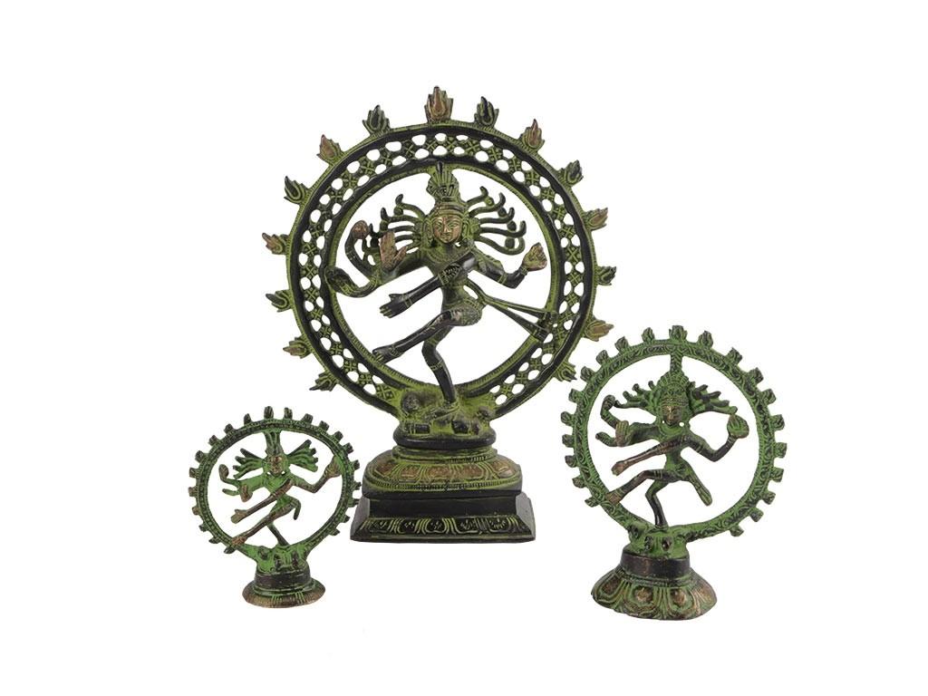 Esculturas de Shiva Dançando em Bronze