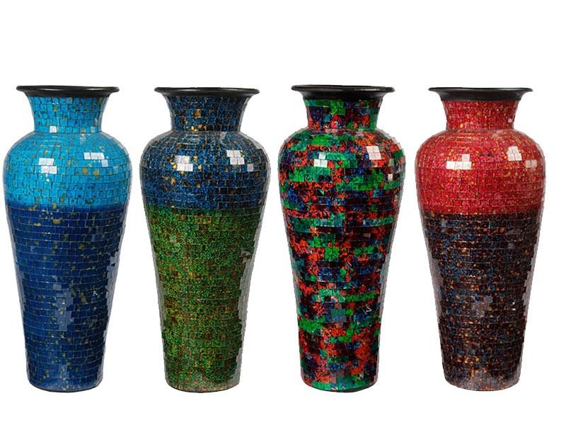 Vasos Confeccionados e Pintados á Mão