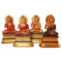 Esculturas de Budas Indianos