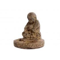 Buda Baby Incensário Pedra