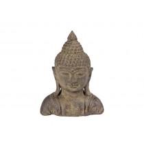 Busto de Buda em Pedra