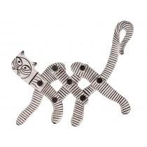Cabideiro Modelo Gato Branco
