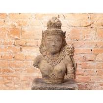 Busto de Tara Budista em Pedra