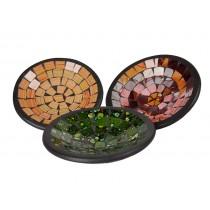 Pratos Redondos em Mosaico