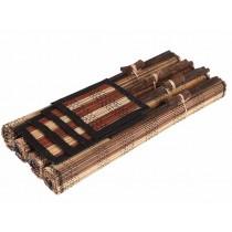 Conjunto de Hashis feitos em Bambú