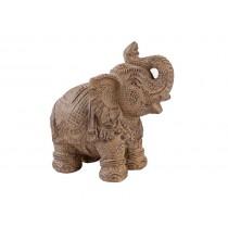 Elefante Manto Entalhado