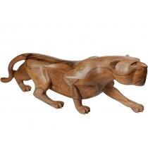 Escultura de Pantera Caçando