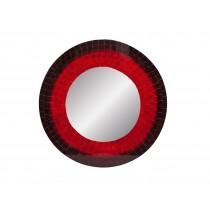 Espelho vermelho Decorativo