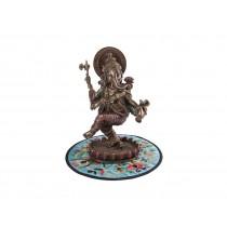 Ganesha Dançando em Cima da Lótus