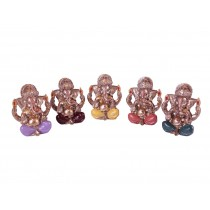 Ganeshas Coloridos Miniatura
