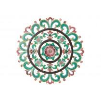 Mandala Foral Pintada a Mão
