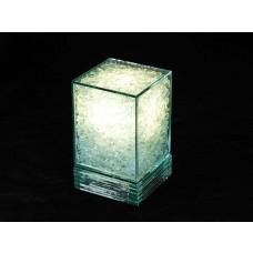 Abajur de Vidro Cubo
