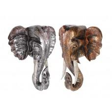 Cabeças de Elefante para Decoração