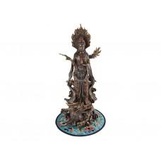 Escultura da Divindade Kuan Yin